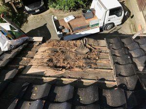 天井から雨漏り_100%自社施工さなだ瓦店_石川県津幡町の瓦屋さん