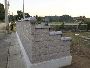 外構(フェンス、塀垣、庭造り)_100%自社施工の瓦外壁リフォーム工事ならさなだ瓦店_石川県津幡町