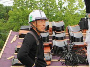 先輩職人の声_100%自社施工の瓦外壁リフォーム工事ならさなだ瓦店_石川県津幡町